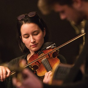 Arnold Lim/News Gazette staff Chloe Nakahara and Charles James Appleton perform at a Victoria Conservatory of Music reception at the Bear Mountain Resport in Langford.