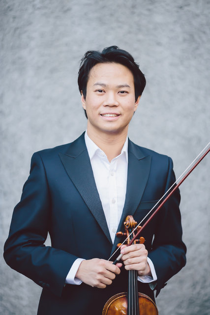 Concertmaster Nikki Chooi