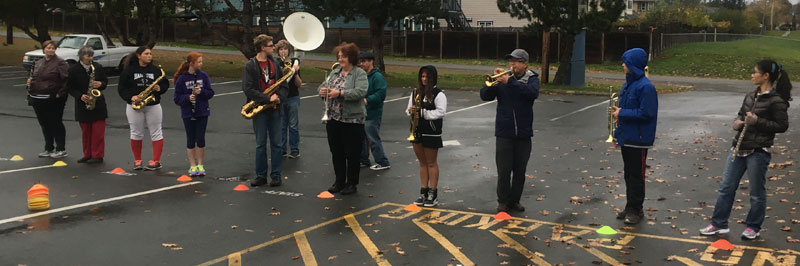 Victoria Marching Band