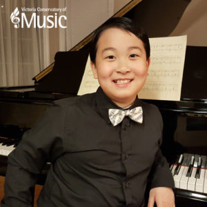 8 year old Felipe Jiang and an orchestra
